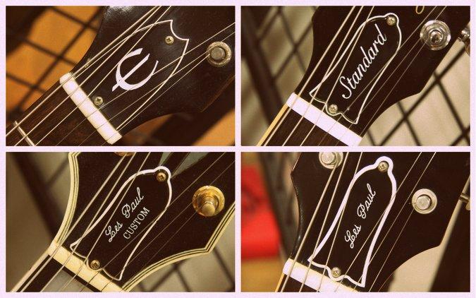 ギター トラスロッドカバー 種類