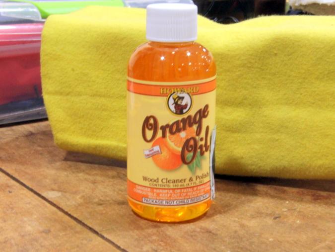 ギター オレンジオイル 保湿 使用方法