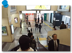 JR西口(阪急東口)スタート編