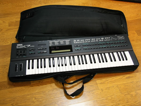 DX7II・FDの梱包